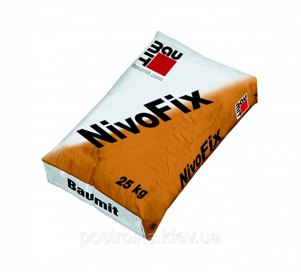 Фото  1 Baumit NivoFix смесь для приклеивания утеплителя ППС плит. 25кг 1756954