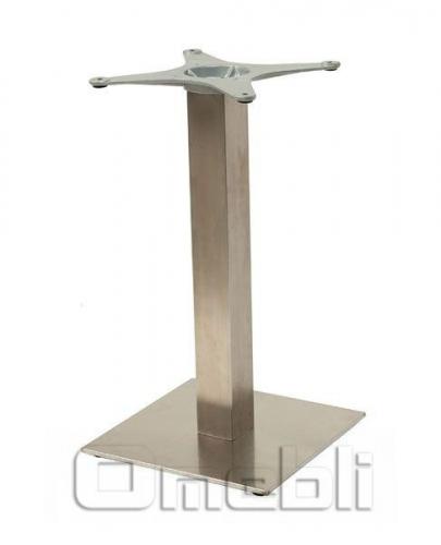 База для стола Афина New (SB-SR58S) Nerzg нерж A7358
