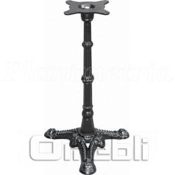 База для стола Антала (ТТ112) Black черн A7370