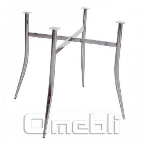 База для стола Дениза (56х56х72Н) Chrome хром A7382