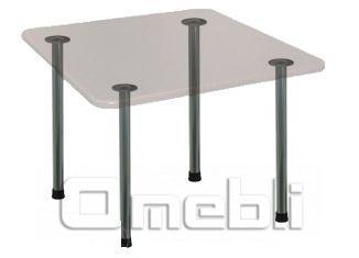 База для стола Кая (d5х75Н) Alum Алюм A7374