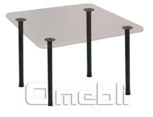 База для стола Кая (d5х75Н) Black черн A7373