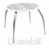 База для стола Лаура (d 5-1,5х70Н) Chrome хром A7380