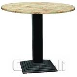 База для стола Пирамида New (TB117) Black черн A7356