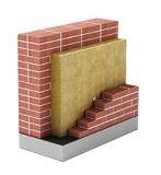 Базальтовая плита плотностью 45кг/м3 для внутренней и внешней облицовки вертикальных конструкций и фасадов.