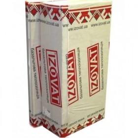 Базальтовая теплоизоляция (утеплитель) IZOVAT 100мм 1000*600(3м2)