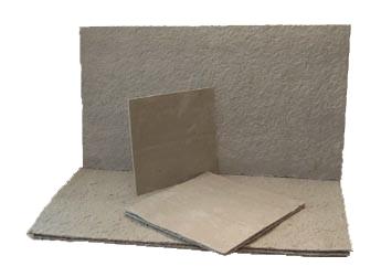 Базальтовый картон из БСТВ MagmaWool™ (1-2 мкм).