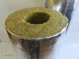 Фото  3 Цилиндр теплоизоляционный фольгированный из минеральной ваты на основе базальтовых пород д.32мм, толщина40мм 250755