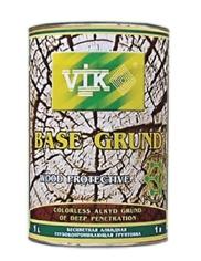 Базовая грунтовка для дерева. Vik®. прозрачная, матовая грунтовка.