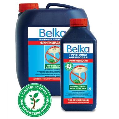 Belka грунт акриловый фунгицидный 5л/10л