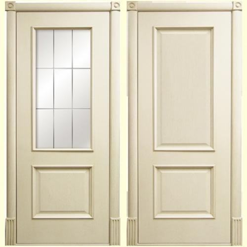 Белорусские двери Версаль патина ваниль