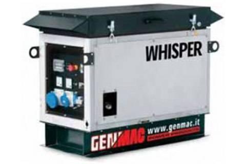 Бензиновая электростанция (тихая) 10 кВт Уровень шума: 58 дБ Бак: 49л Расход: 470 гр. на 1 кВт/ч Вес: 250 кг