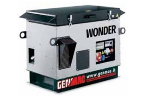 Бензиновый генератор (3ф, тихий) 9,6 кВт Расход: 4,5л/ч Уровень шума: 65 дБ Вес: 255 кг