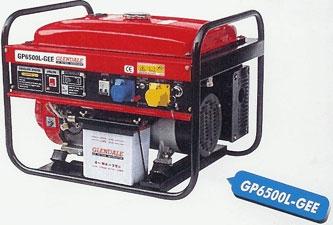 Бензиновый генератор GLENDALE GP6500L-GEE/1 c автоматическим пуском, 6 кВт, 2 года гарантии, Тайвань бесплатная доставка