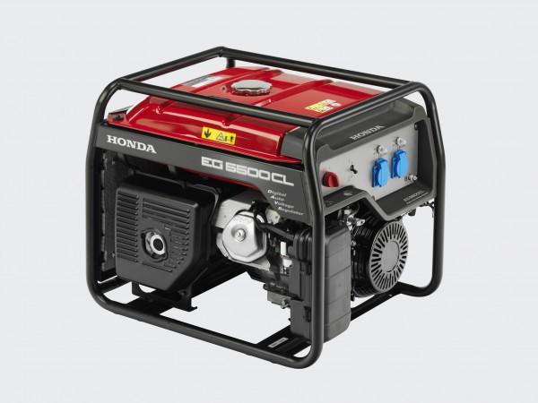 Бензиновый генератор Honda EG5500CXS Акция 20 л бензина в подарок заправка масла.