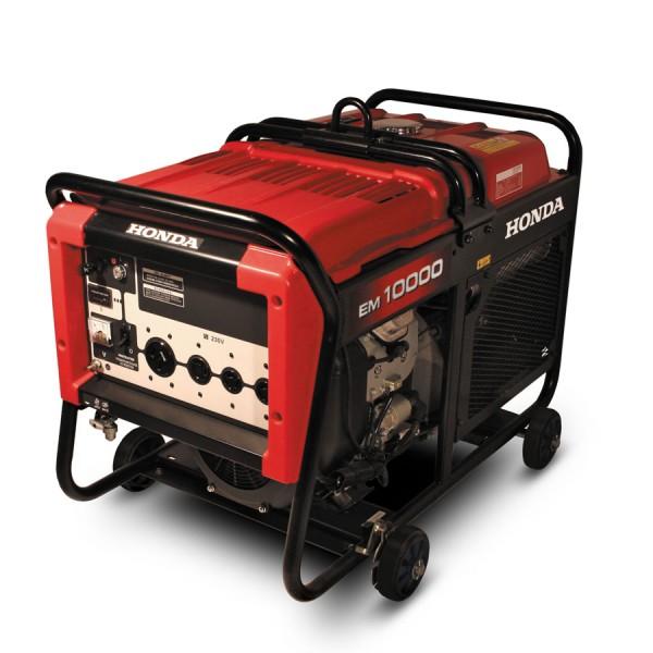 Бензиновый генератор Honda EM10000RG Акция 20 л бензина в подарок заправка масла.