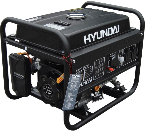 Бензиновый генератор HYUNDAI HHY 2200F 2,2 кВт однофазный