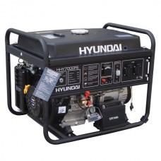 Бензиновый генератор HYUNDAI (Хундай) HHY 7000FE, для дома, для дачи, 5,5 кВт, электростарт