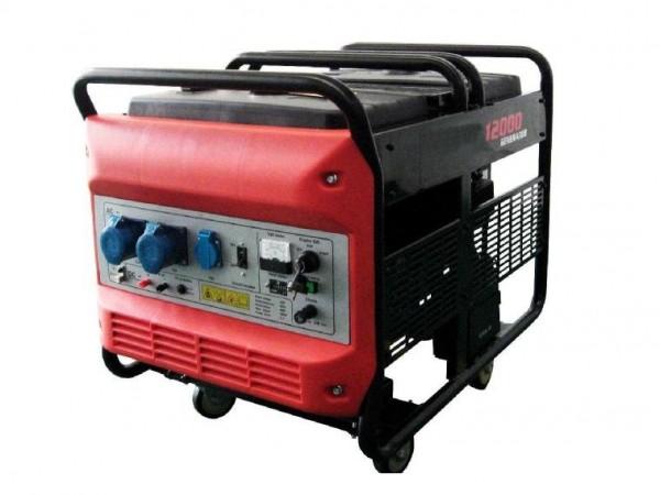 Бензиновый генератор Stark PSG12000EL-1Ph Акция 20л бензина в подарок заправка масла.