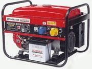 Бензогенератор GLENDALE GP6500L-GEE/1 мощность 6 кВт количество фаз 1 емкость бака 25 л