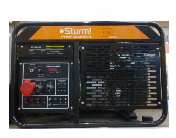 Бензогенератор Sturm PG8795E