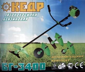 Бензокоса КЕДР БГ-3400 Отличная мотокоса КЕДР БГ-3400 - ХИТ ПРОДАЖ !!!