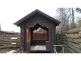 Строительство деревянных беседок(альтанок)из материала натуральной влажности(сосна).