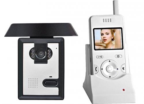 Беспроводной видеодомофон BSE-02-1C-1M комплект (монитор вызывная панель со встроенной видеокамерой)