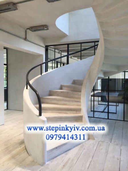 Фото 2 Монолитные (бетонные) лестницы и крыльца любой сложности в Киеве 337403