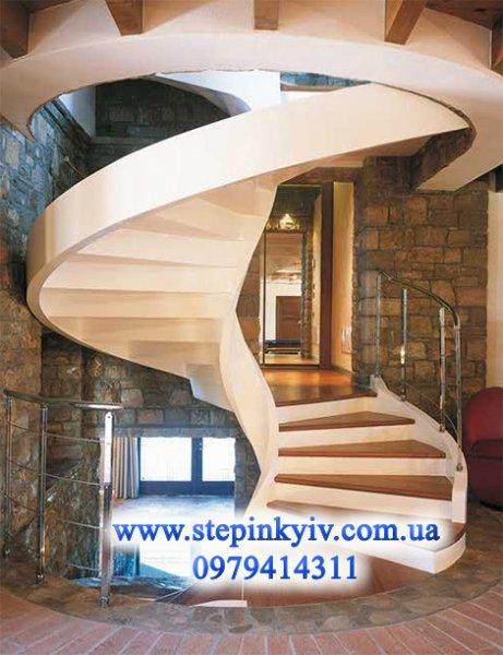 Фото 7 Монолитные (бетонные) лестницы и крыльца любой сложности в Киеве 337403
