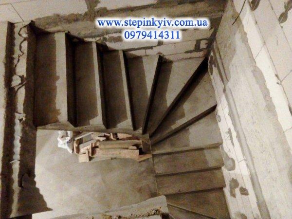 Фото 2 Изготовление монолитных, железобетонных, бетонных лестниц 337404