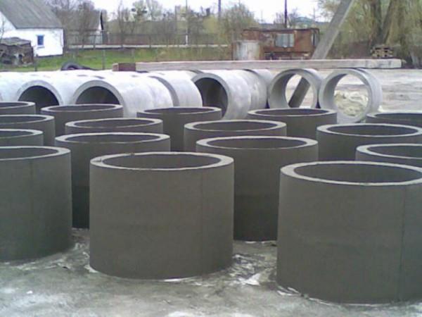 Бетонные кольца для колодцев и канализаций