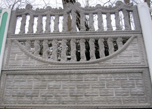 Бетонный (железобетонный) забор. Еврозабор. №14