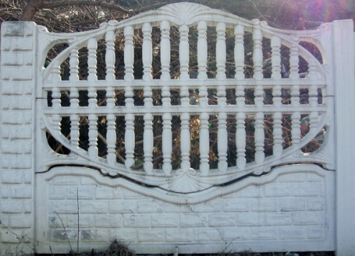 Бетонный (железобетонный) забор. Еврозабор. №27