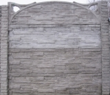 Бетонный (железобетонный) забор. Еврозабор. №4