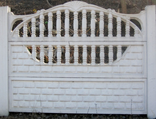 Бетонный (железобетонный) забор. Еврозабор. №6