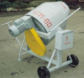 Бетономешалка БГВИ-50