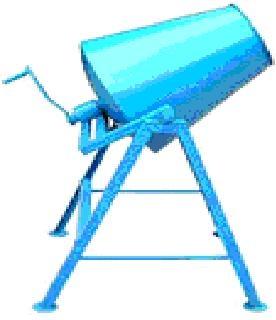 Бетономешалка ручная БРСГ-100