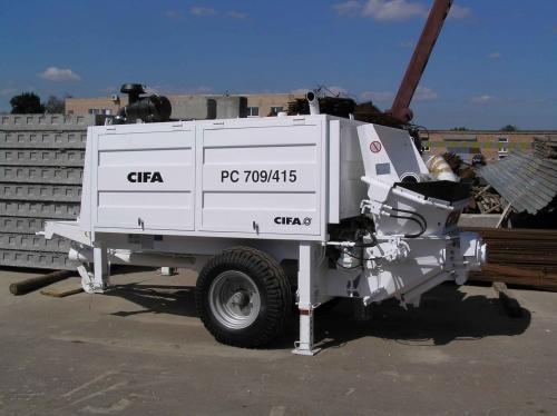 Бетононасос CIFA(Италия)-70м3/ч Подача по вертикали - 160 м Двигатель Deutz - 118 кВт В наличии на складе в Киеве
