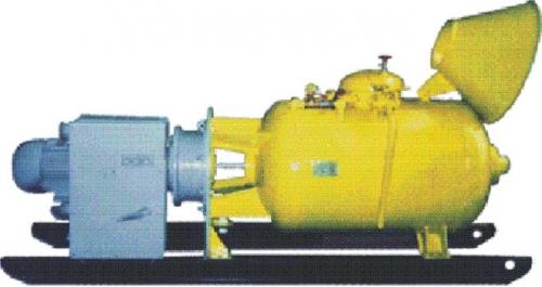 Бетононасос -пневмонагнетатель ПН-600/1-2 5-10 куб. м/ч