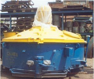 Бетоносмеситель принудительный СБ-146 б/у в рабочем состоянии