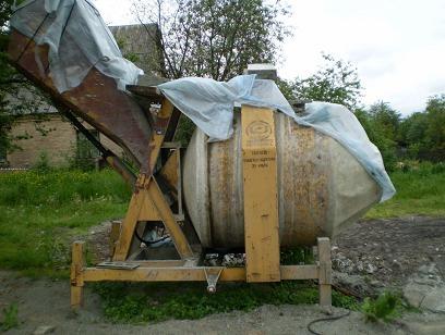 Бетоносмеситель со скипом Ферровиаль-750 восстановленный