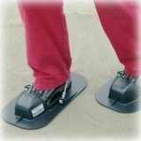 Бетоноступы Италия Широкая плоская обувь для хождения по стяжке, влажному бетону.
