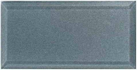 плитка стеклянная Bevel Brick Silver 100x200x0,6 мм