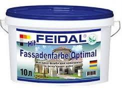 Фото  1 FEIDAL HIT-Fassadenfarbе Optimal краска для внутренних и внешних работ 1807308