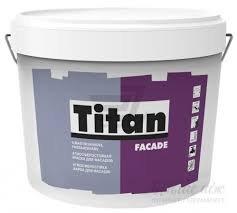 Фото  1 Краска фасадная Titan Fasade 10л 696493