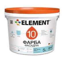 Фото  1 ELEMENT 10 СИЛИКОН фасадная краска модифицированная силиконом 1807293