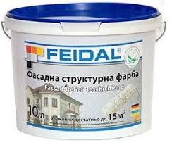 Фото  1 FEIDAL Fassad Relief Beschichtung универсальная рельефная краска с кварцевой крошкой 1807302