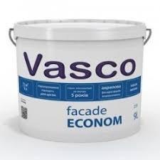 Фото  1 Vasco Facade Econom акриловая фасадная краска 1807272