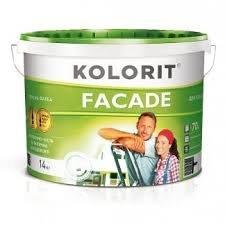 Фото  1 Kolorit FACADE латексная краска для наружных работ 1807295